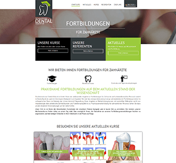 Website der Idental Education